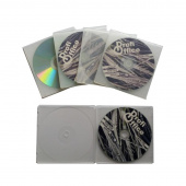 Бокс для CD/DVD дисков РrofiОffice MB-1 7018 (5 штук в упаковке)