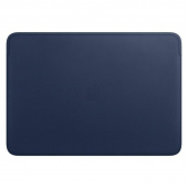Чехол Apple Leather Sleeve для MacBook Pro 16 темно-синий (MWVC2ZM/A)